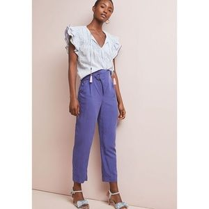 [Anthropologie] NWT Cupro Wrap Trousers